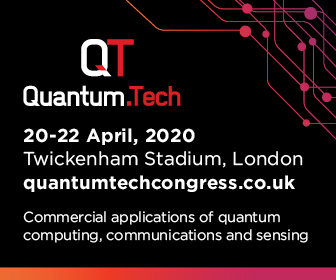 Quantum.Tech Congress London 20-22 April 2020